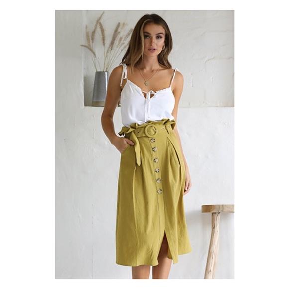 Seven Wonders Dresses & Skirts - Isla Paperbag Skirt